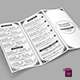 TriFold Restaurant Menu Template Vol. 7 - GraphicRiver Item for Sale