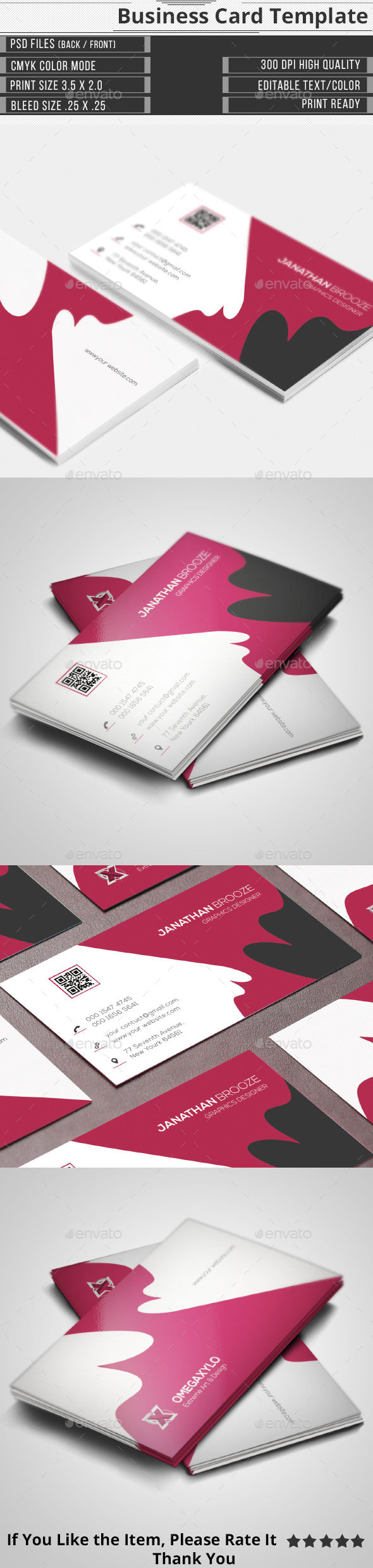 GraphicRiver Elegant Corporate Business Card 10413691