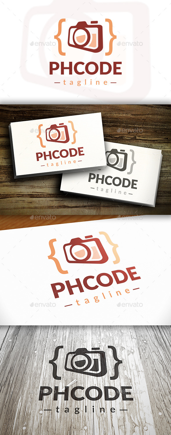 GraphicRiver Photo Code Logo Template 10413791