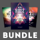 Techno Flyer Bundle - GraphicRiver Item for Sale