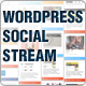 WordPress Social Stream - CodeCanyon Item for Sale