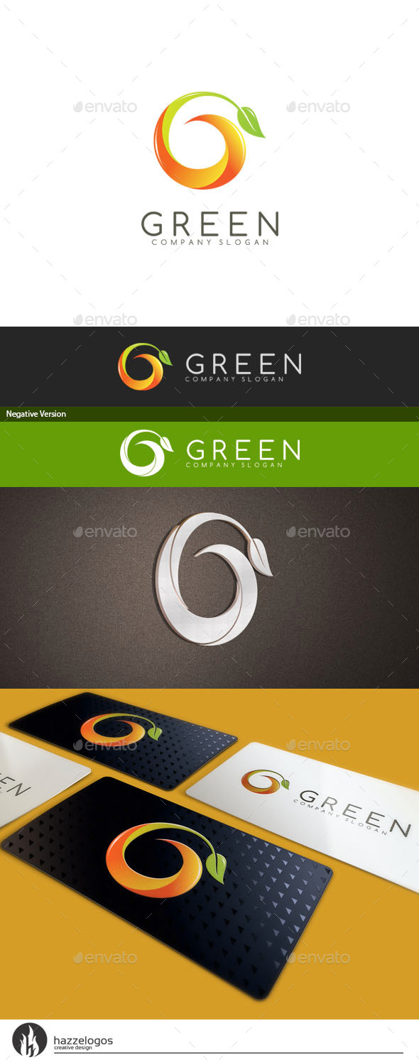 GraphicRiver Green Logo 10414137