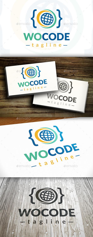 GraphicRiver World Code Logo Template 10414371