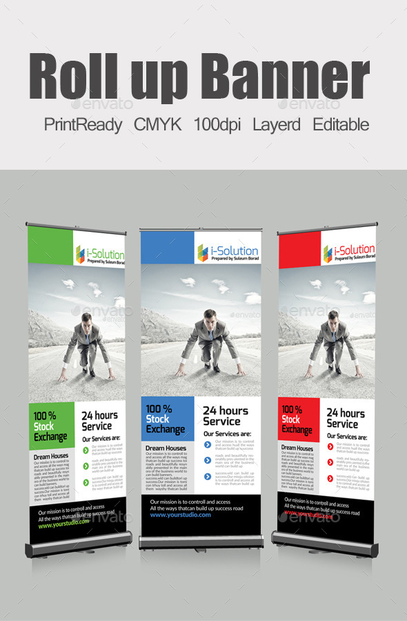 GraphicRiver Roll Up Business Banners 10414393