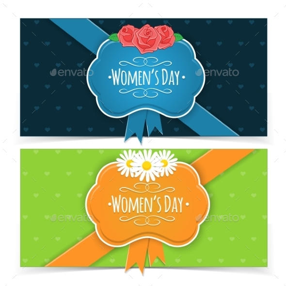 Women s Day Banners