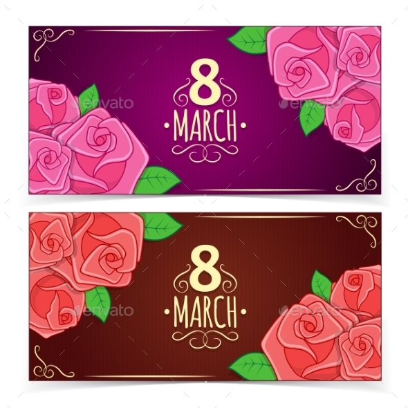 GraphicRiver Banners for Women s Day 10414518