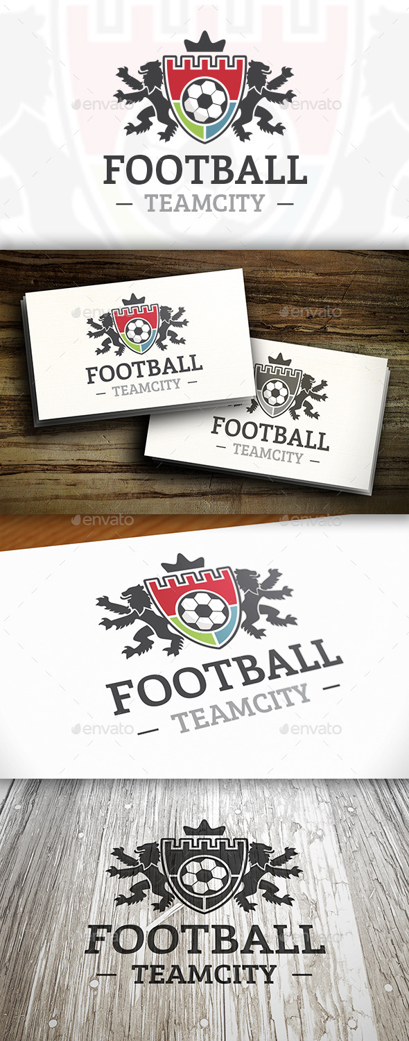GraphicRiver Football Club Logo 10414683