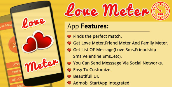 CodeCanyon Love Meter 10414902