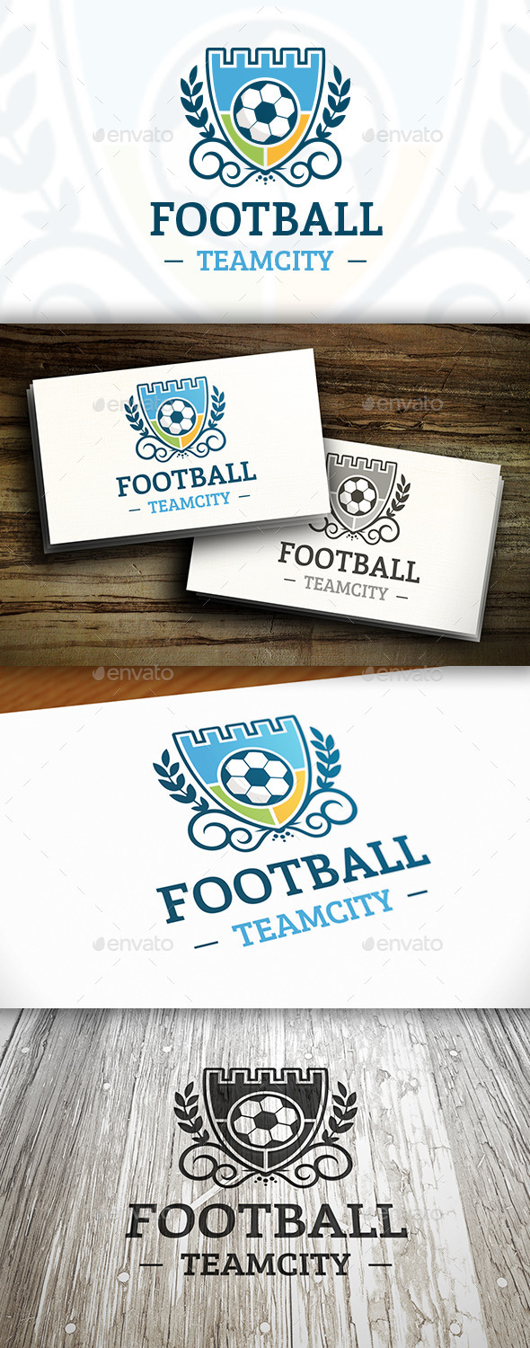 GraphicRiver Football Club Logo Template 10414917