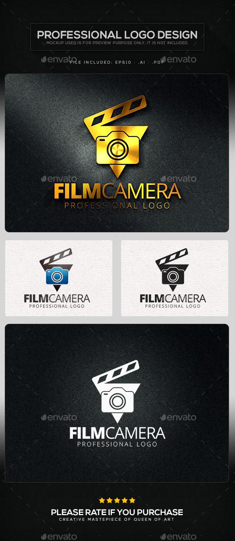 GraphicRiver Film Camera Logo Template 10414950