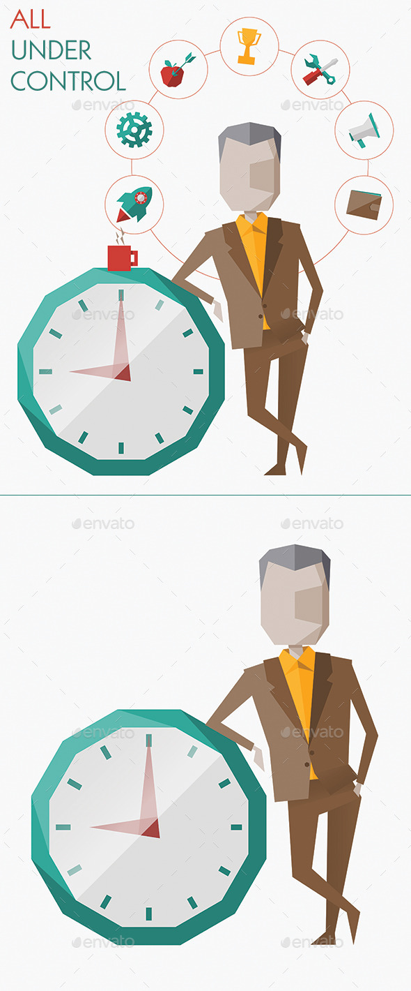 GraphicRiver Time Management and Planning 10415159
