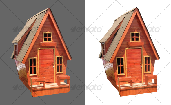 Children Wooden House