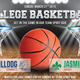 College Basketball Game Flyer Template 62 - GraphicRiver Item for Sale