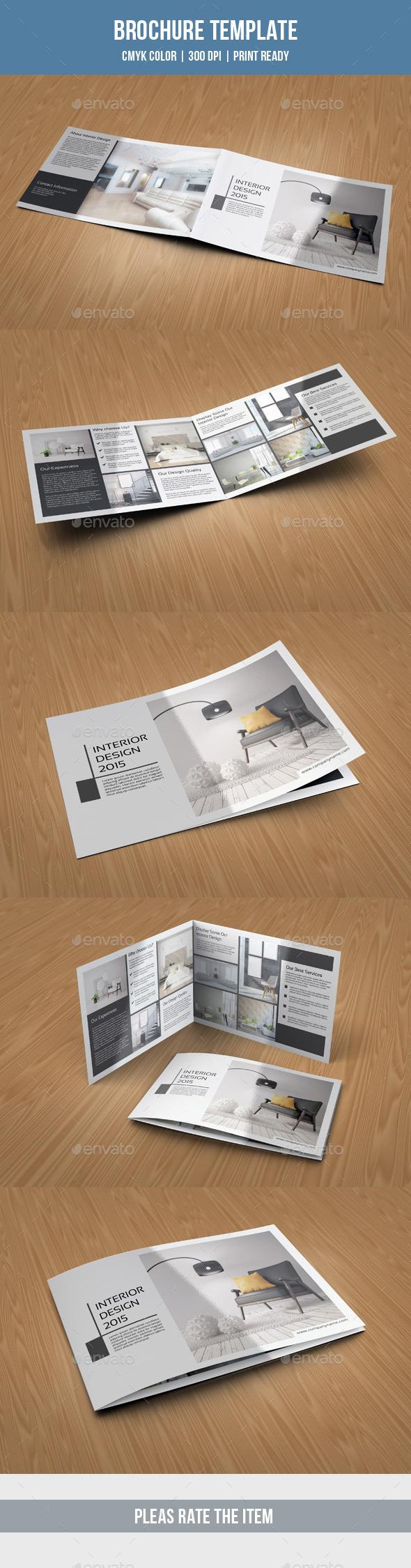 GraphicRiver Landscape Bifold Brochure-V199 10415925