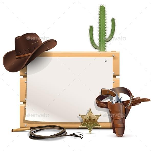 GraphicRiver Cowboy Frame 10416038