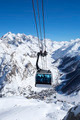 cable cars in a mountain area - PhotoDune Item for Sale