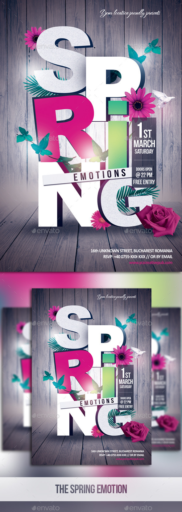 GraphicRiver The Spring Emotions 10416056