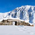 ruins under snow - PhotoDune Item for Sale