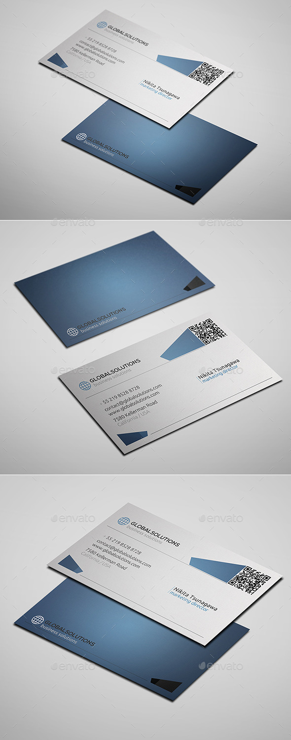 GraphicRiver Corporate Business Card 11 10416073