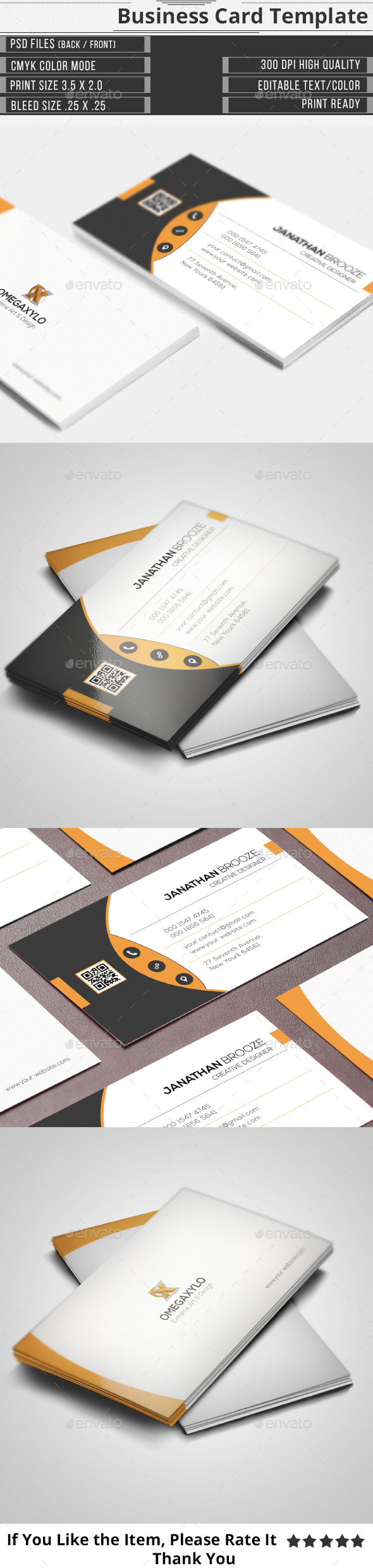 GraphicRiver Elegant Corporate Business Card 10416104