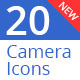Camera Icons - GraphicRiver Item for Sale