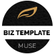 Biz Muse Template - ThemeForest Item for Sale