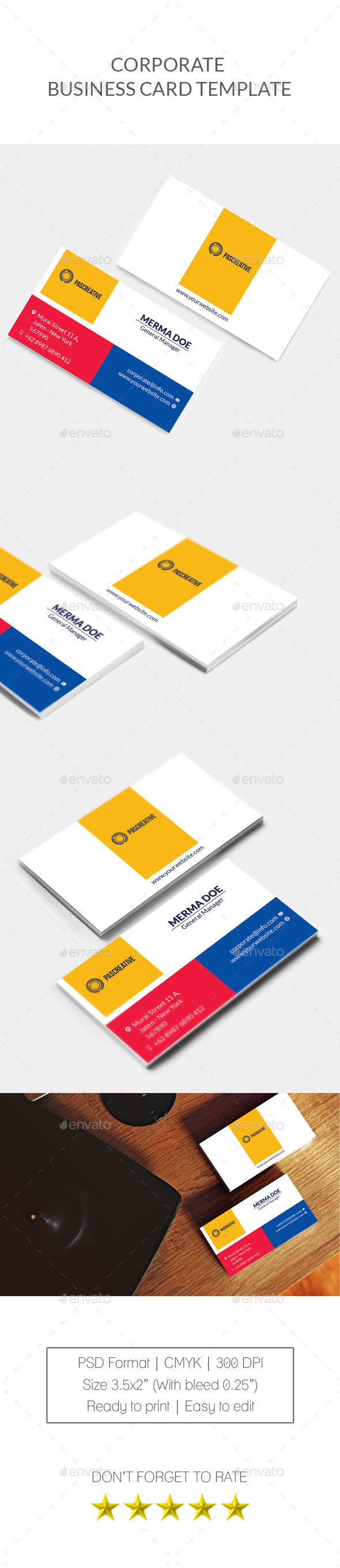 GraphicRiver Corporate Business Card Vol 2 10366002