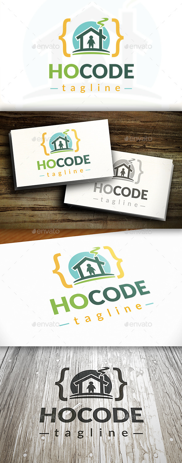 GraphicRiver House Code Logo 10416301