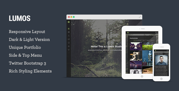 Lumos - Multipurpose Single/Multi-page Template