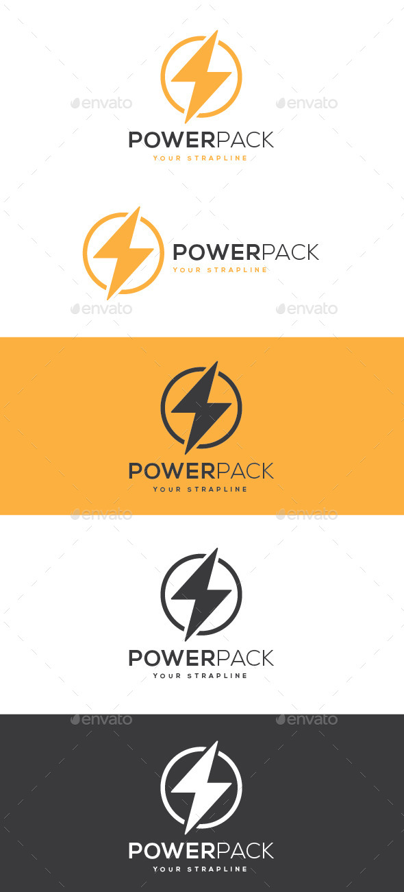 GraphicRiver Power Pack Logo 10416844