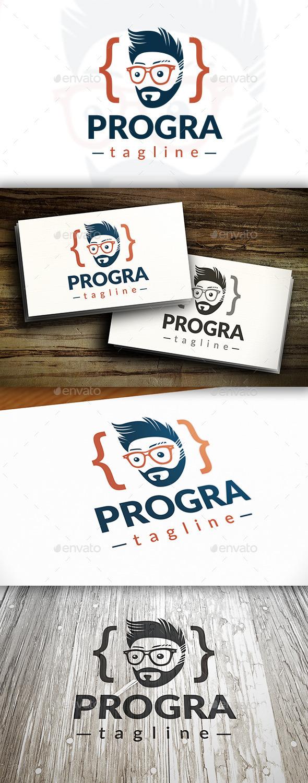 GraphicRiver Programer Logo 10417121