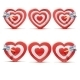 Collection of Aim Hearts. - GraphicRiver Item for Sale