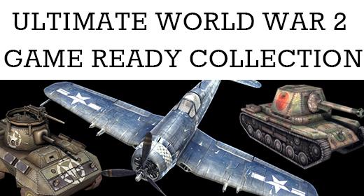 WW2 Game Ready Vehicles