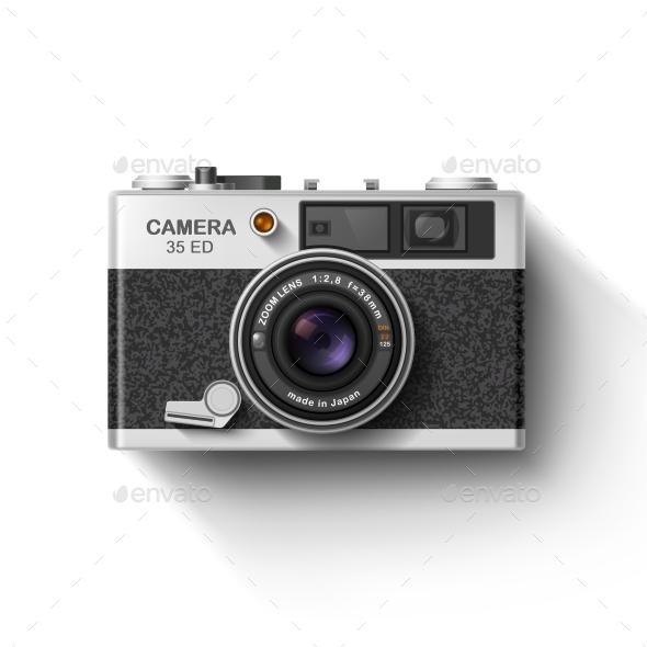 GraphicRiver Old Photo Camera 10417412