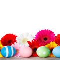 Easter eggs and flowers  - PhotoDune Item for Sale