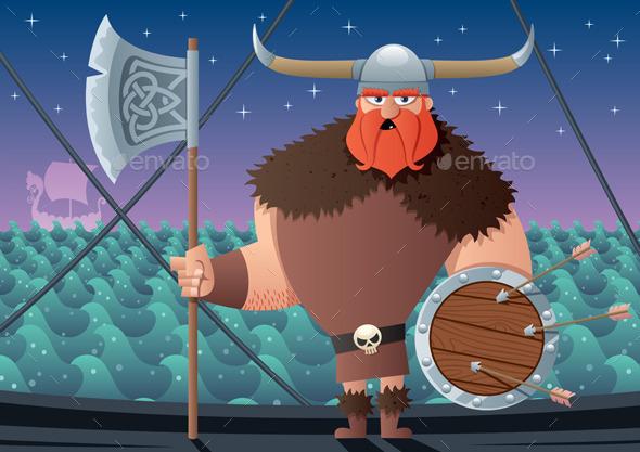 GraphicRiver Viking 10417459