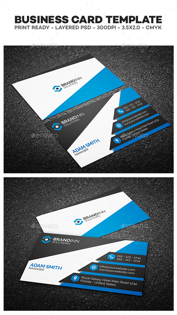 GraphicRiver Creative Corporate Business Card 03 10368428