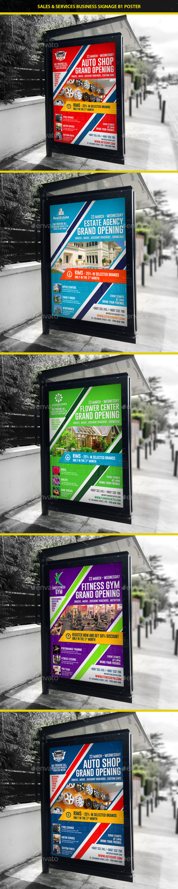 GraphicRiver Agency & Shop Grand Opening B1 Poster 10417528