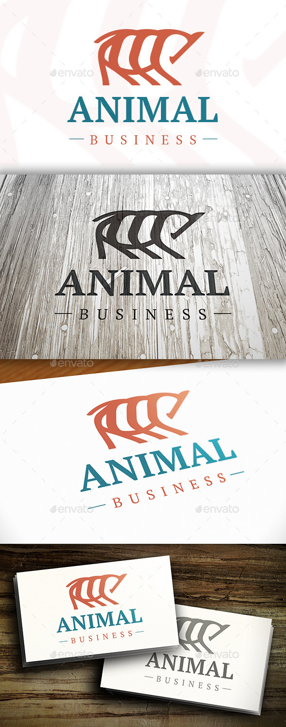 GraphicRiver Animal Logo 10417829