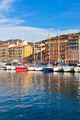 View on Port of Nice and Luxury Yachts, France - PhotoDune Item for Sale