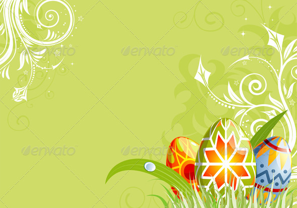 Graphic River Easter background Vectors -  Conceptual  Seasons/Holidays  Miscellaneous 1049963