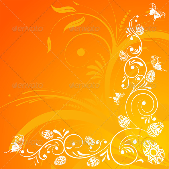 Graphic River Easter background Vectors -  Conceptual  Seasons/Holidays  Miscellaneous 1049970