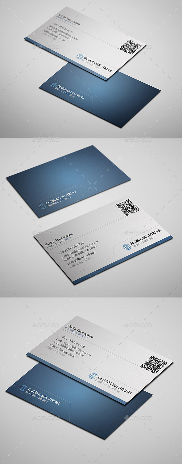 GraphicRiver Corporate Business Card 12 10418372