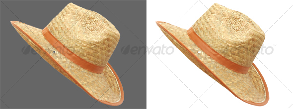 Handmade straw hat for men