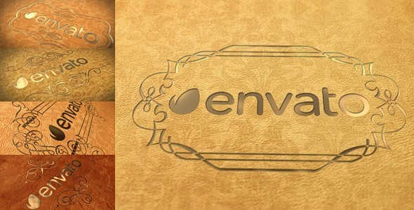 Elegant Leather Logo Videohive Project