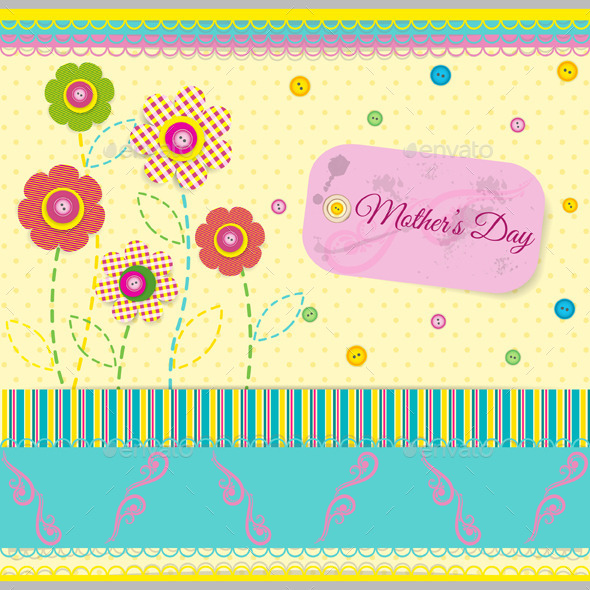 GraphicRiver Abstract Background in Scrapbook Style 10419901