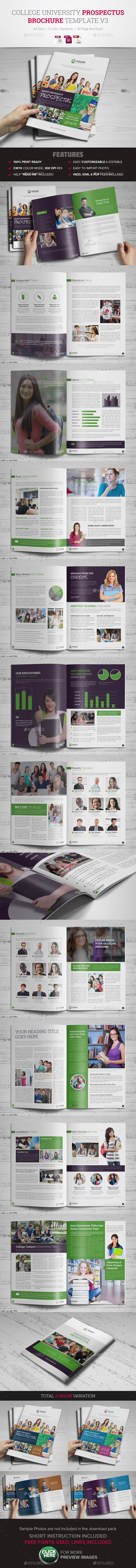 GraphicRiver College University Prospectus Brochure Template 3 10420246