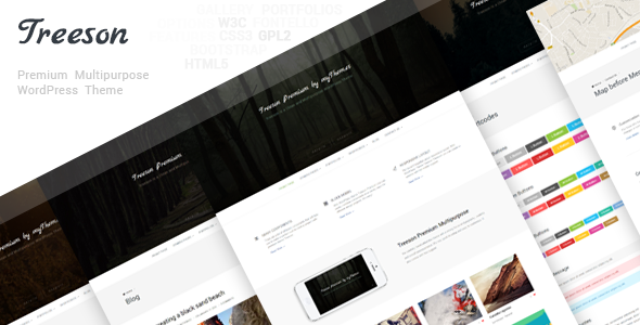 ThemeForest Treeson Premium Multipurpose Wordpress Theme 10165292