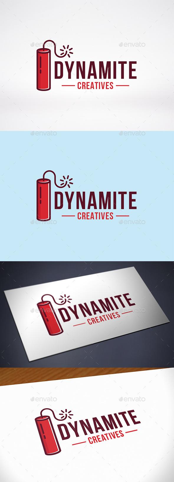 GraphicRiver Dynamite Logo Template 10420739