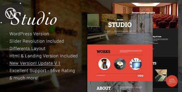 Studio - Multipurpose Software Technology WordPress Theme - Software Technology